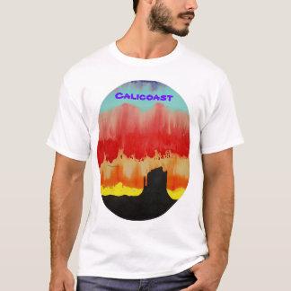 山の日没 Tシャツ