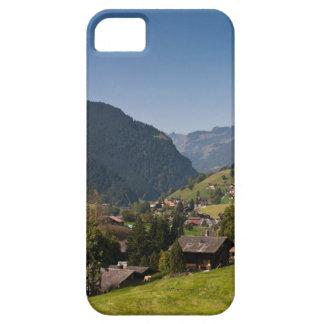 山の村 iPhone SE/5/5s ケース