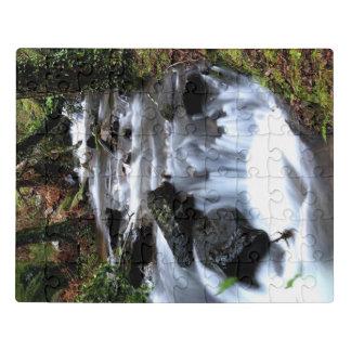 山の流れのパズル ジグソーパズル