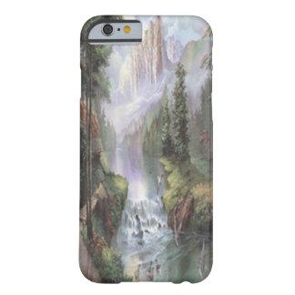 山の滝のiPhone6ケース Barely There iPhone 6 ケース