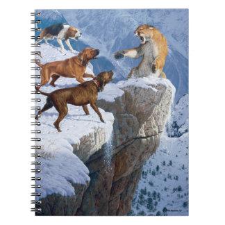 山の激怒のノート ノートブック