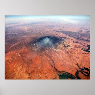 山の火 ポスター