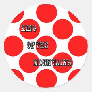 山の点の王 ラウンドシール