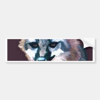 山の狐狩りをする人の野性生物の森林動物のギフト バンパーステッカー