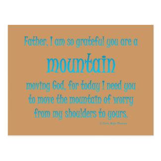 山の移動神 ポストカード