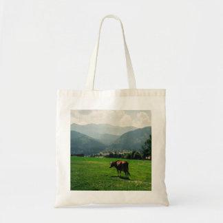 山の自然の景色の写真で脅かして下さい トートバッグ