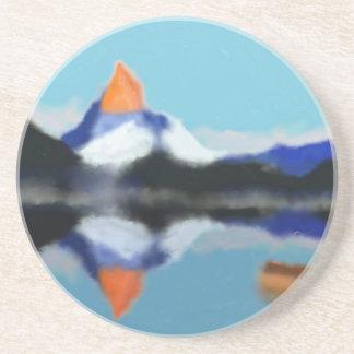 山の芸術による船遊び コースター