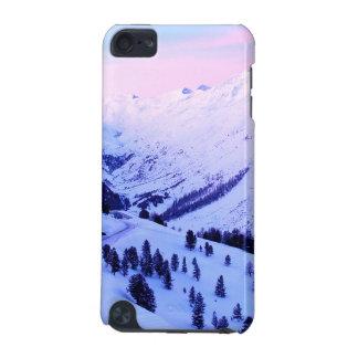 山の雪の日の出のiPodの箱 iPod Touch 5G ケース
