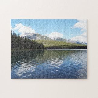 山のBanffのパズル ジグソーパズル