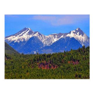 山のFlagstaffアリゾナ ポストカード