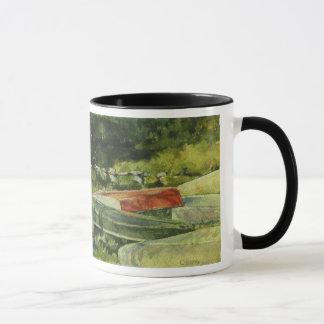 山のGretnaのカヌー マグカップ