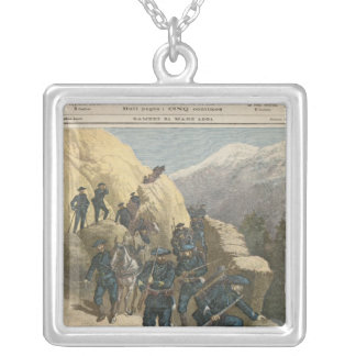 山のInfantrymen シルバープレートネックレス