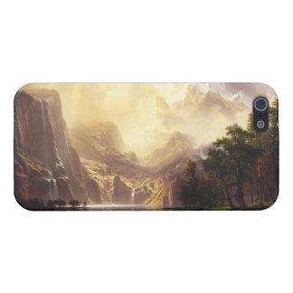 山のiPhone 5の場合のアルバートBierstadt iPhone 5 ケース