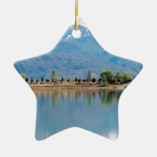 山のmirror湖 セラミックオーナメント