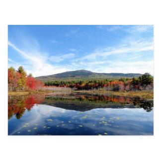 山のMonadnock場面 ポストカード