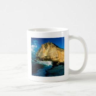 山のPointe Desの館グアダループ コーヒーマグカップ