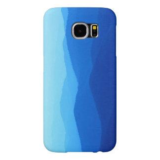山のsamsung青いs6の箱 samsung galaxy s6 ケース