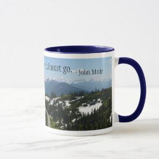 山はマグを呼んでいます マグカップ