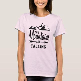 山は呼んでいます Tシャツ