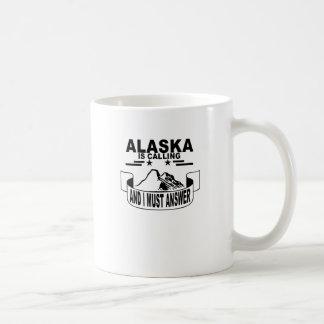 山は呼んで、私は行かなければなりません コーヒーマグカップ