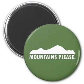 山は喜びます マグネット