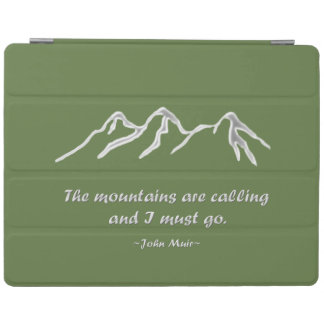山は雪が多いブリザードを呼んでいます iPad カバー