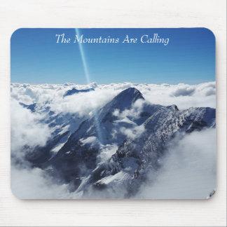 山はSTOREMANによって呼んでいます マウスパッド