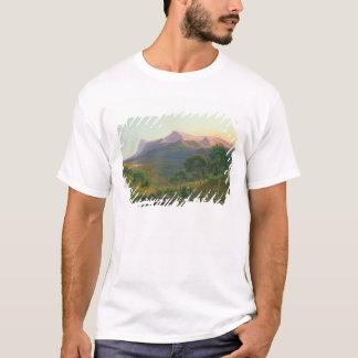 山ウィリアムの前の火による土人 Tシャツ