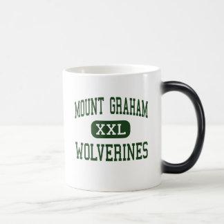 山グラハム-ミシガン州人-高Saffordアリゾナ マジックマグカップ