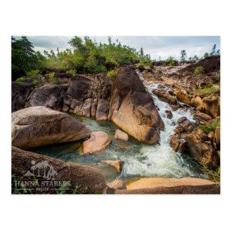 山マツリッジの滝 ポストカード