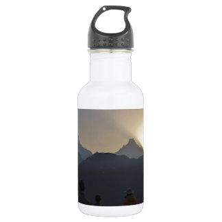 山上の日の出 ウォーターボトル