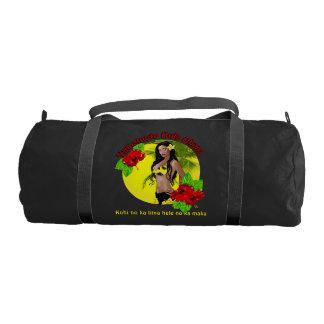 山元町のフラのOhanaのDuffleの体育館のバッグのための習慣 ジムバッグ