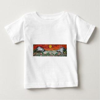 山場面 ベビーTシャツ