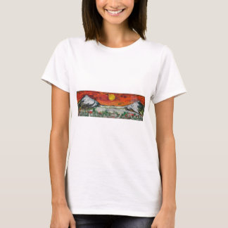 山場面 Tシャツ