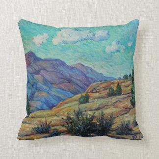 山景色の枕 クッション