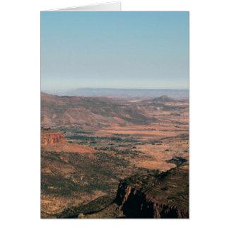 山景色 カード