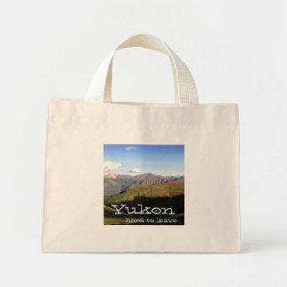 山景色; ユーコン準州領域の記念品 ミニトートバッグ