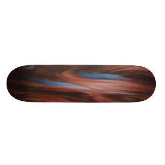 山火事カッコいいのスケートボード! カスタムスケートボード