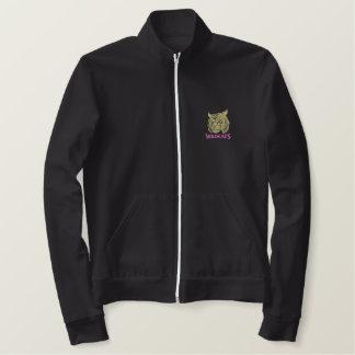山猫 刺繍入りジャケット