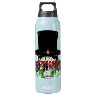 山羊座のスカル 断熱ウォーターボトル