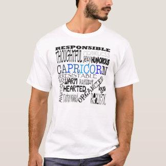 山羊座の地下鉄の芸術 Tシャツ