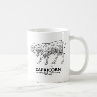 山羊座(19日12月22日- 1月) コーヒーマグカップ