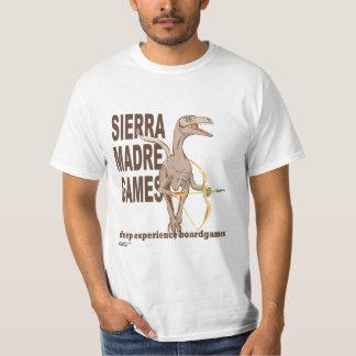 山脈Madreのゲームのロゴのワイシャツ Tシャツ