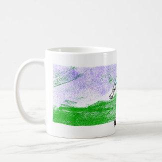 山腹の男の子 コーヒーマグカップ