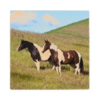山腹の馬 ウッドコースター
