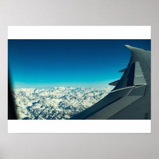 山頂の眺め ポスター