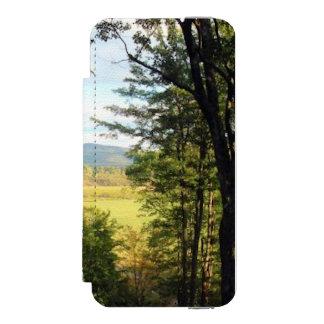 """山5/5sのウォレットケースの森林""""鍵穴""""の眺め incipio watson™ iPhone 5 ウォレット ケース"""