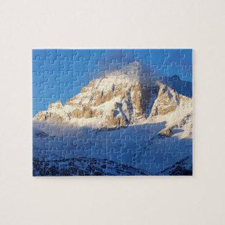 山、カリフォルニアの雪 ジグソーパズル