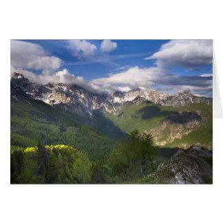 山、スロベニア カード