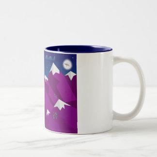 山 ツートーンマグカップ